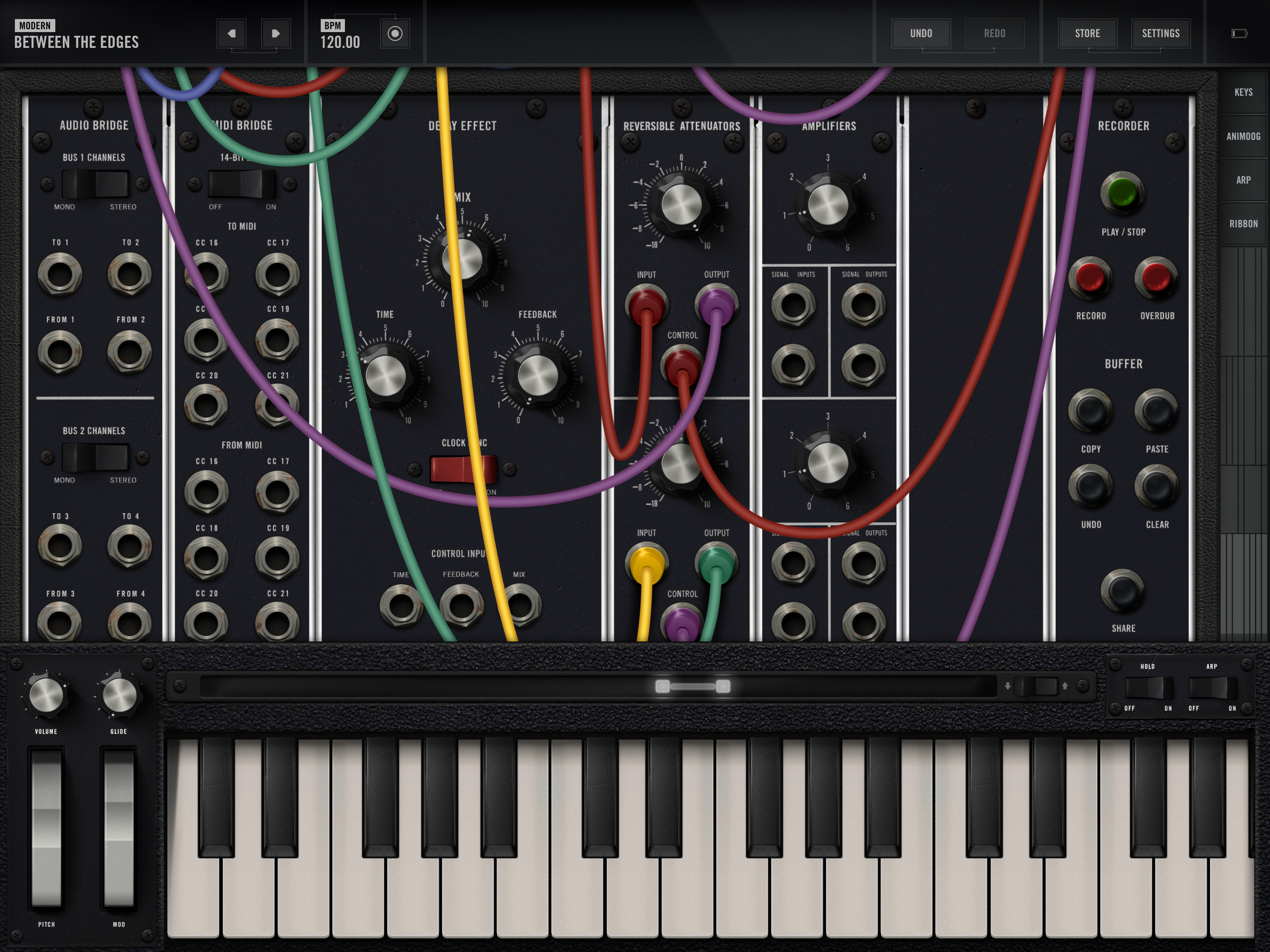 Model 15 App | Moog