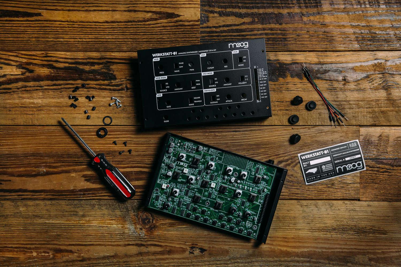 Werkstatt 01 Moog How To Build Cuckoo Sound Generator A Synthesizer You Get